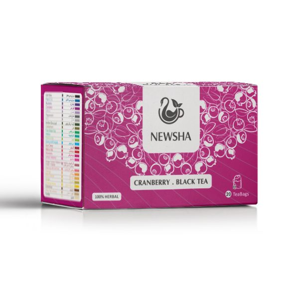 Newsha Cranberry + Black Tea