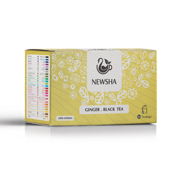 Newsha Ginger + Black Tea