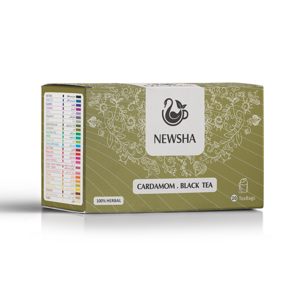 Newsha Cardamom + Black Tea