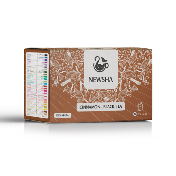 Newsha Cinnamon + Black Tea