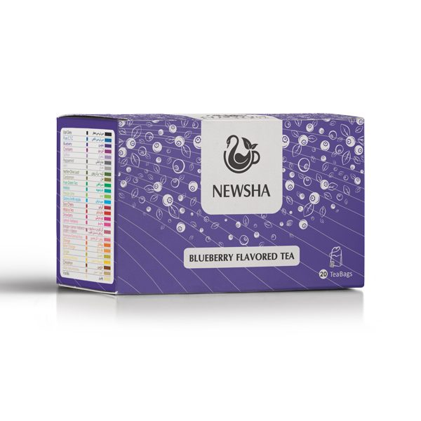 Newsha Blueberry Flavored Tea