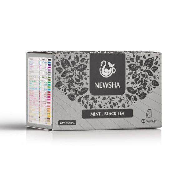 Newsha Mint + Black Tea