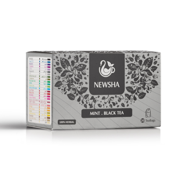 Newsha Mint + Black Tea