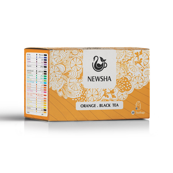 Newsha Orange + Black Tea
