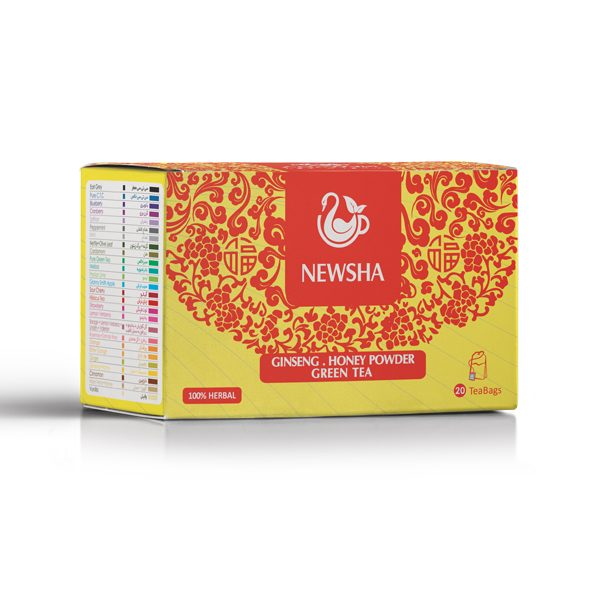 Newsha Ginseng + Honey Powder + Green Tea