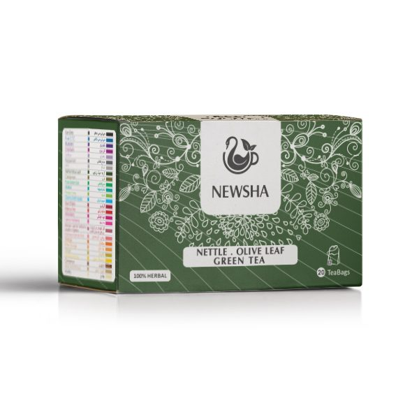 Newsha Nettle + Olive Leaf + Green Tea