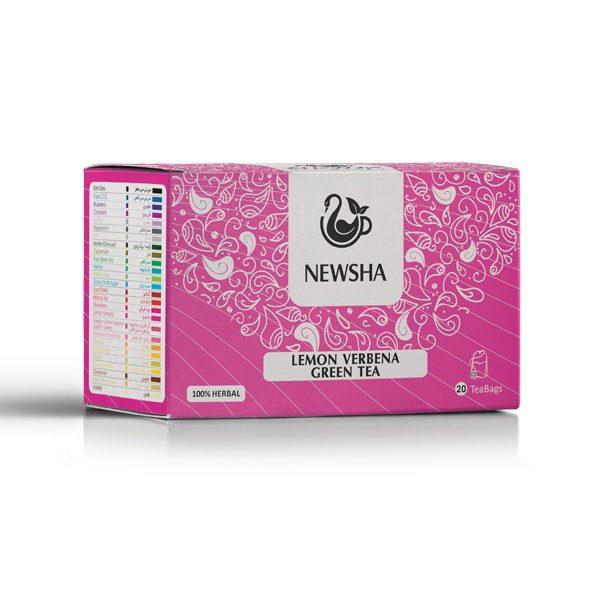 Newsha Lemon Verbena + Green Tea