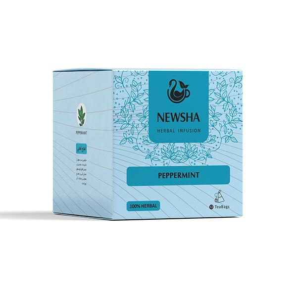 Newsha Peppermint Infusion (Pyramid Teabag)
